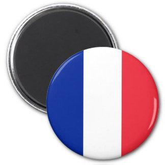 Bandeira de France Ímã Redondo 5.08cm