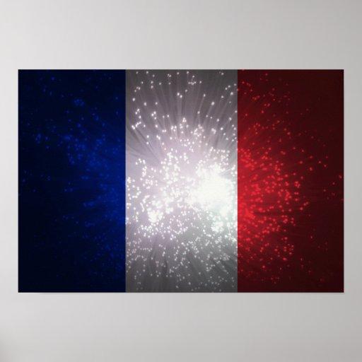 Bandeira de France Poster