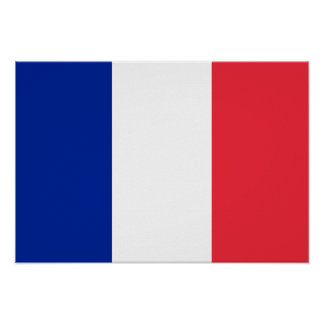 Bandeira de France Posters