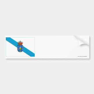 Bandeira de Galiza Adesivos