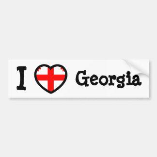 Bandeira de Geórgia Adesivo