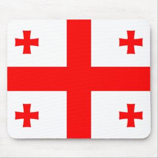Bandeira de Geórgia Mousepads