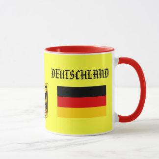 Bandeira de GERMANY*/ALEMANHA & caneca da brasão