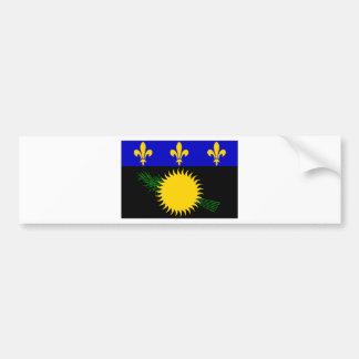 Bandeira de Guadalupe (France) Adesivo Para Carro