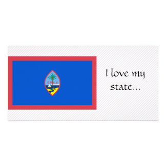 Bandeira de Guam Cartoes Com Fotos