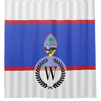 Bandeira de Guam Cortina Para Box