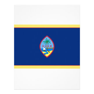 Bandeira de Guam Papel Timbrado