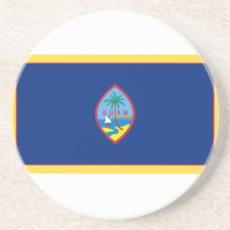 Bandeira de Guam Porta Copos De Arenito