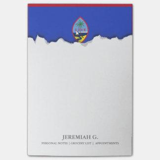 Bandeira de Guam Sticky Note