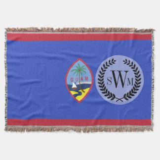 Bandeira de Guam Throw Blanket