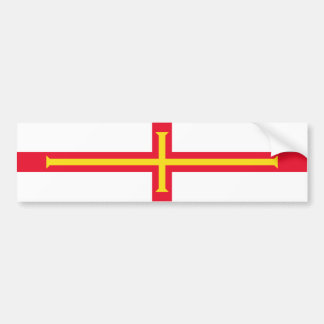 Bandeira de Guernsey. Grâ Bretanha, coroa britânic Adesivo Para Carro