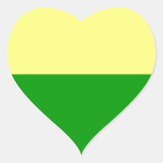 Bandeira de Haia Adesivo Coração