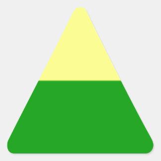 Bandeira de Haia Adesivo Triangular