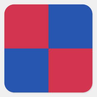 Bandeira de Harenkarspel Adesivo Quadrado