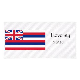 Bandeira de Havaí Cartões Com Fotos