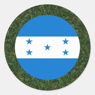 Bandeira de Honduras na grama Adesivo