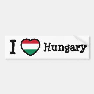 Bandeira de Hungria Adesivo