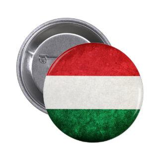 Bandeira de Hungria Bóton Redondo 5.08cm