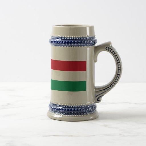Bandeira de Hungria Caneca