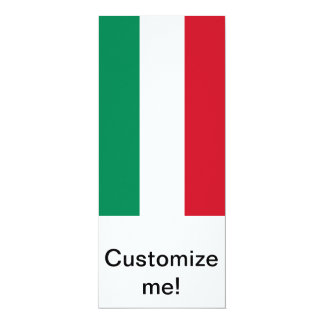 Bandeira de Hungria Convite 10.16 X 23.49cm