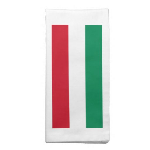 Bandeira de Hungria Guardanapo Impresso