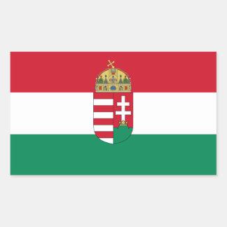 Bandeira de Hungria/Hungarian 1940 Adesivo Retangular