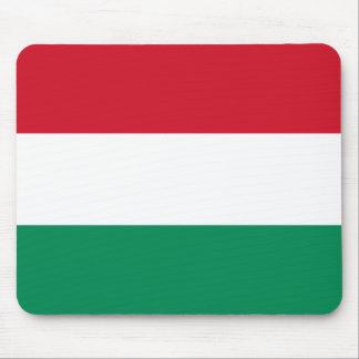 Bandeira de Hungria Mouse Pads