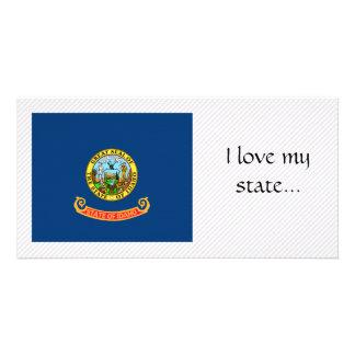 Bandeira de Idaho Cartão Com Foto