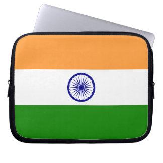 Bandeira de India Sleeve Para Notebook