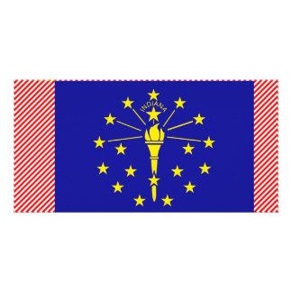Bandeira de Indiana Cartões Com Foto