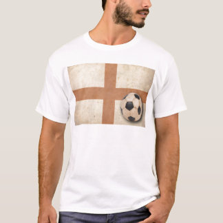 Bandeira de Inglaterra do vintage Camiseta