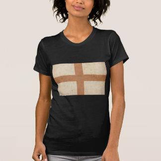 Bandeira de Inglaterra do vintage Camisetas