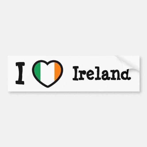 Bandeira de Ireland Adesivo