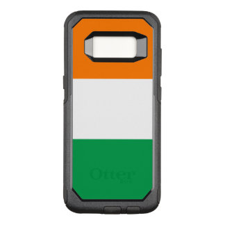 Bandeira de Ireland Capa OtterBox Commuter Para Samsung Galaxy S8