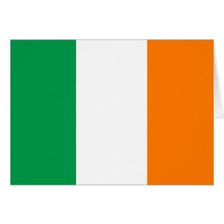 Bandeira de Ireland Cartão De Nota