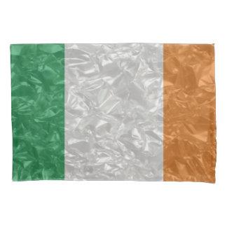 Bandeira de Ireland - enrugada