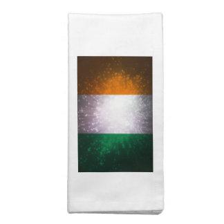 Bandeira de Ireland Guardanapo Impresso