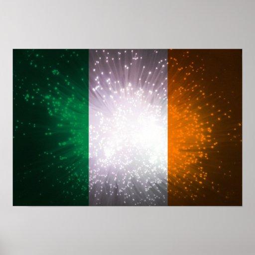 Bandeira de Ireland Pôsteres