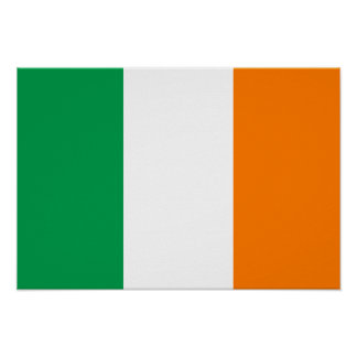 Bandeira de Ireland Poster