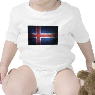 Bandeira de Islândia Camiseta