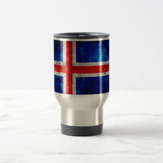 Bandeira de Islândia Canecas