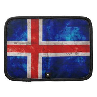 Bandeira de Islândia Organizadores