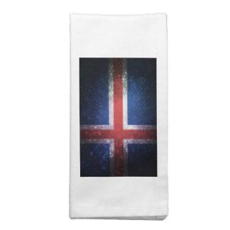 Bandeira de Islândia Guardanapos De Pano