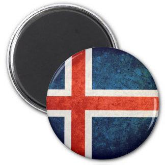 Bandeira de Islândia Imãs