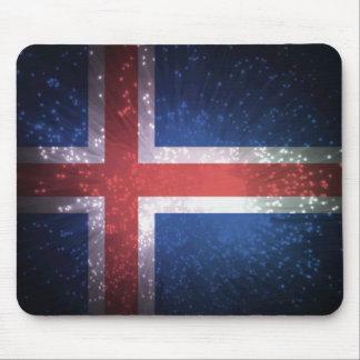 Bandeira de Islândia Mousepad
