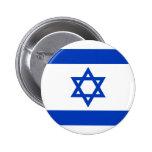 Bandeira de Israel Bóton Redondo 5.08cm