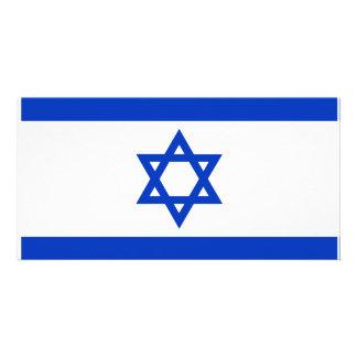 Bandeira de Israel Cartão Com Foto
