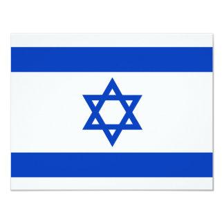 Bandeira de Israel Convite 10.79 X 13.97cm