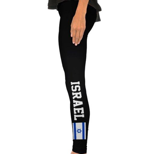 Bandeira de Israel Calças Coladas