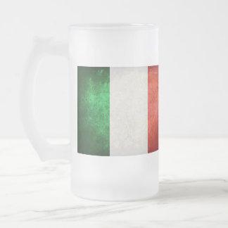 Bandeira de Italia Caneca